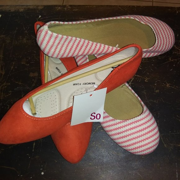 Two New Pairs of Flats